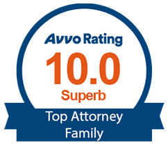 Avvo Rating 10.0 Superb Top Attorney Family